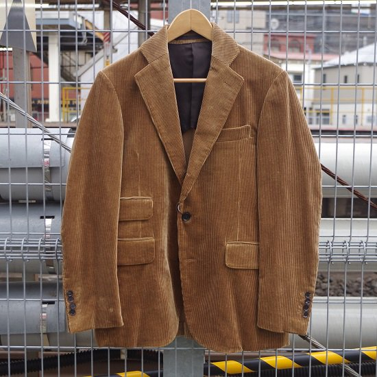 "HYPERION×SECOURS ""CORDUROY 3B JACKET"""