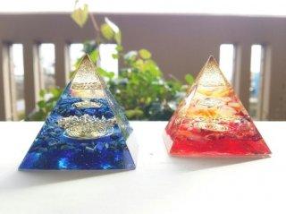 オルゴナイト☆ピラミッド エジプシャン ラピスラズリ青