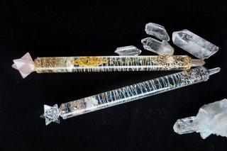 オルゴナイト☆ワンド(魔法の杖) マカバ型 クリアタイプ