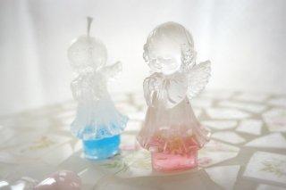 天使のオルゴナイト・キャンドルセット ピンク