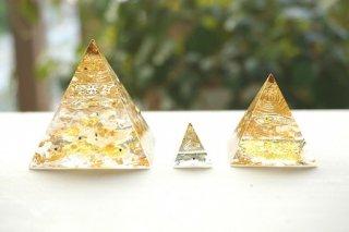 オルゴナイト☆ピラミッド エジプシャン3点セット ゴールド