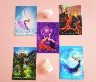 レムリア女神カード