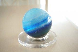 オルゴナイト☆星・惑星 母なる地球ガイヤ 専用台座付き