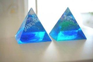 オルゴナイト☆碧の世界 ピラミッド 2種
