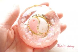 【受注生産】オルゴナイト☆木花咲耶姫(コノハナサクヤヒメ) 五芒星 ドーム型