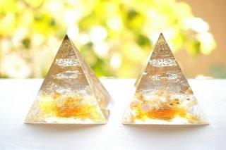オルゴナイト☆ピラミッド エジプシャン ゴールド ペアでお得!