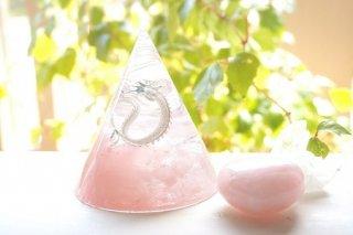オルゴナイト☆木花咲耶姫 円錐形 龍と月