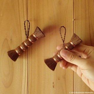 【棕櫚箒】棒束子[キリワラ]やわらか/洗濯用/足袋洗い/[B送料](受注製作)