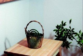 「窯変蚊やり器(器具付き)」【信楽陶器卸商業協同組合】