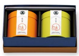 焙じ茶二品 化粧箱詰合せ(三番焙じ茶・五番焙じ茶)【株式会社 マルヨシ近江茶】 ※