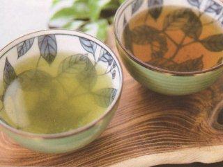 吉笑茶セット(上煎茶・上ほうじ茶、風呂敷付)【日本緑茶株式会社】