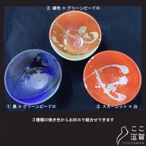 [ここ滋賀]信楽焼 選べるお茶碗2個セット【株式会社信楽陶苑】