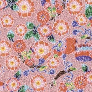 【ネコポス可】姫ふろしき 桜に蝶(ピンク色)