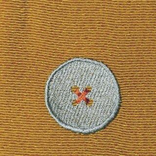 【ネコポス可】ボタン姫ふろしき 玉虫(山吹色)