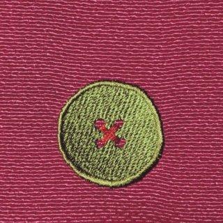 【ネコポス可】ボタン姫ふろしき 玉虫(撫子色)