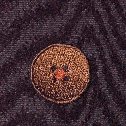 【ネコポス可】ボタン姫ふろしき 玉虫(濃紫色)
