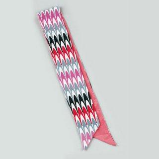 プチスカーフ 水面/ピンク