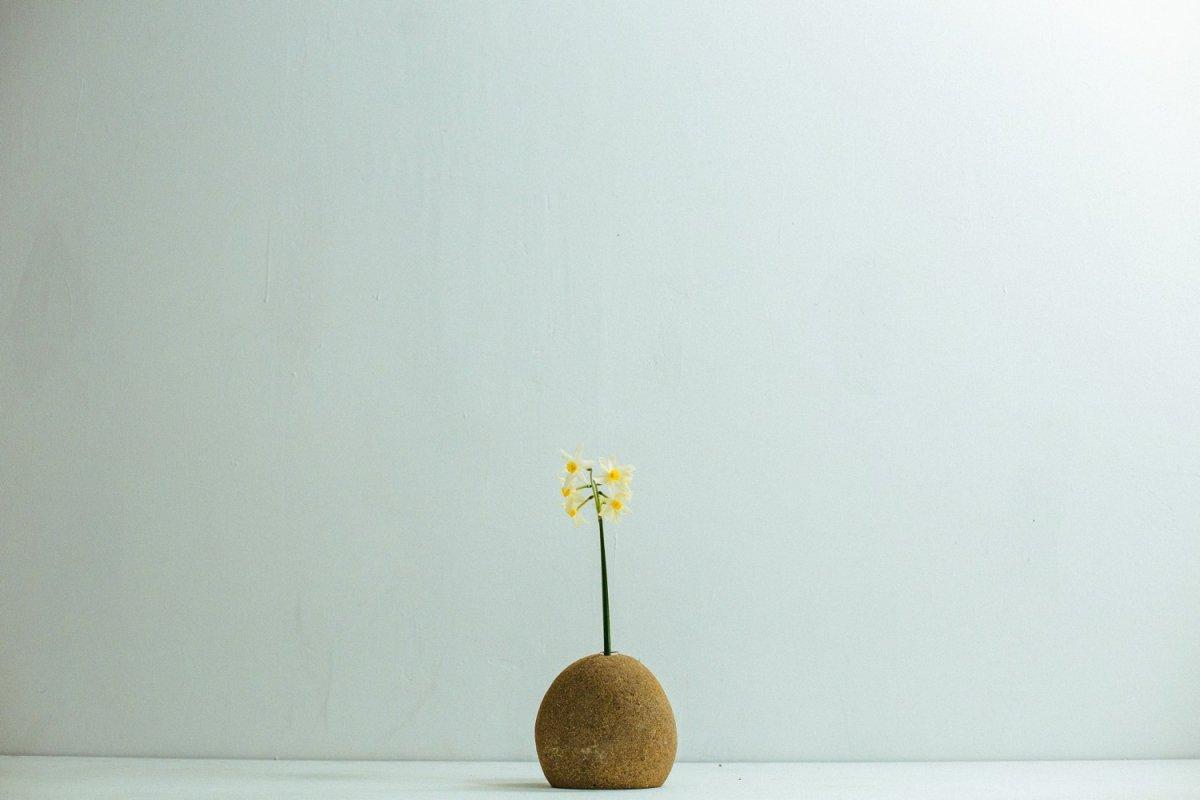 Real Stone Vase #107