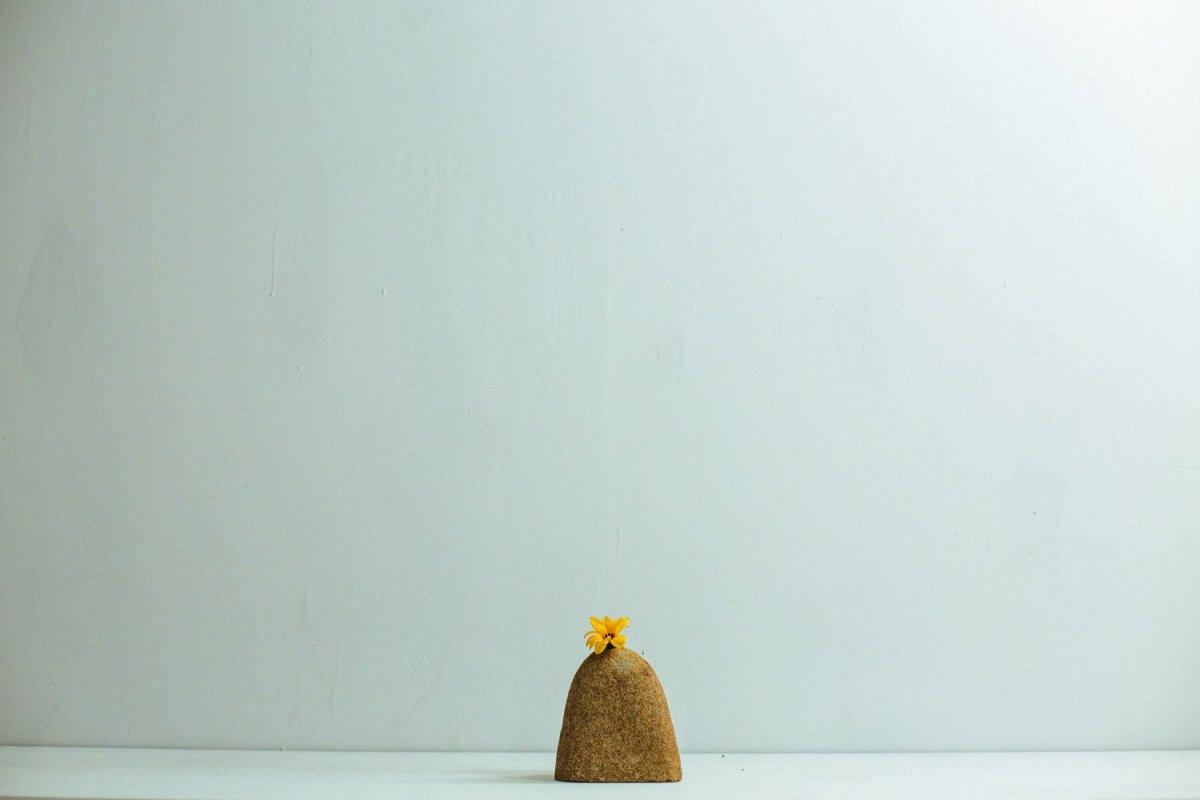 Real Stone Vase #106