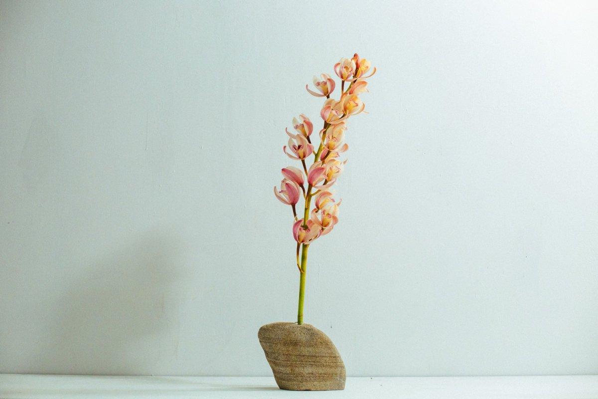 Real Stone Vase #109