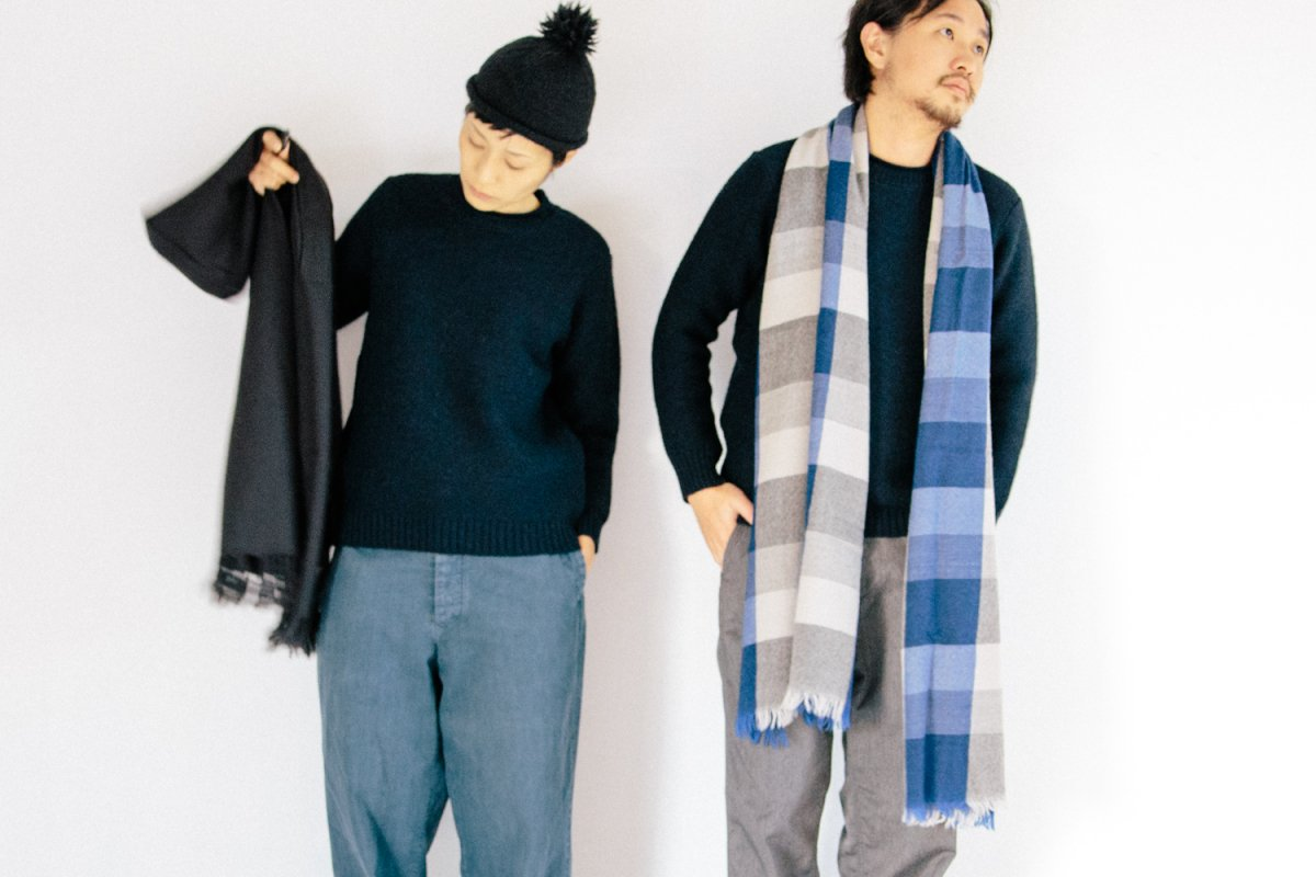 <img class='new_mark_img1' src='//img.shop-pro.jp/img/new/icons8.gif' style='border:none;display:inline;margin:0px;padding:0px;width:auto;' />RINEN 2/21 Wool Crew neck
