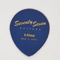 SeventySevenGuitars JAZZ OVAL Picks 0.8mm