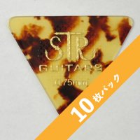 【3%オフ】STR Rubber Grip BASS PICK 0.75mm【10枚パック】