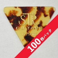 【10%オフ】STR Rubber Grip BASS PICK 0.75mm【100枚パック】