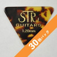 【5%オフ】STR Rubber Grip BASS PICK 1.20mm【30枚パック】