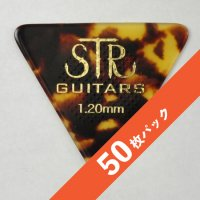 【8%オフ】STR Rubber Grip BASS PICK 1.20mm【50枚パック】