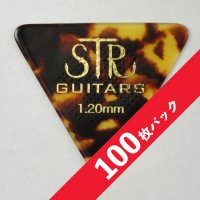 【10%オフ】STR Rubber Grip BASS PICK 1.20mm【100枚パック】