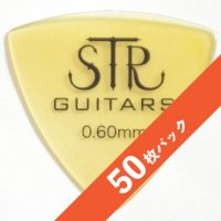 【8%オフ】STR ULTEM PICK Triangle 0.6mm【50枚パック】
