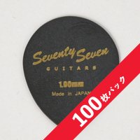 【10%オフ】SeventySevenGuitars JAZZ OVAL Picks 1.0mm【100枚パック】