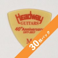 【5%オフ】HEADWAY 40th Anniv. ULTEM PICK Medium【30枚パック】
