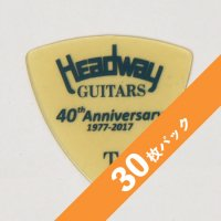 【5%オフ】HEADWAY 40th Anniv. ULTEM PICK Thin【30枚パック】