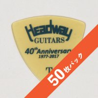 【8%オフ】HEADWAY 40th Anniv. ULTEM PICK Thin【50枚パック】