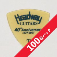 【10%オフ】HEADWAY 40th Anniv. ULTEM PICK Thin【100枚パック】