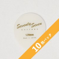 【3%オフ】SeventySevenGuitars JAZZ OVAL Picks 1.2mm【10枚パック】