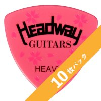 【3%オフ】HEADWAY SAKURA PICK(Heavy)【10枚パック】