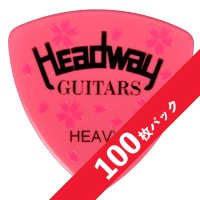 【10%オフ】HEADWAY SAKURA PICK(Heavy)【100枚パック】