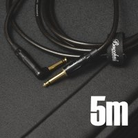 Bacchus BS-500SL BGP 5m S-Lケーブル【Black and Gold】