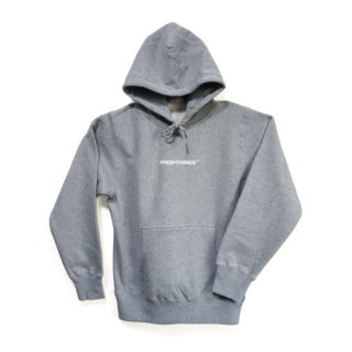 LOGO HOODED SWEATSHIRT / GREY