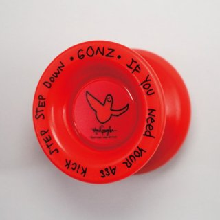 MARK GONZALES X MEDICOM TOY X FRESHTHINGS YOYO / RED (TYPE X)