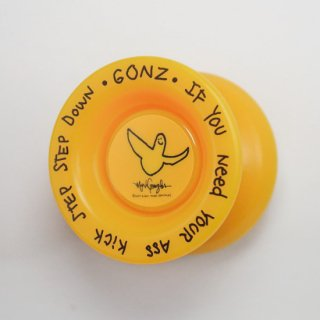 MARK GONZALES X MEDICOM TOY X FRESHTHINGS YOYO / YELLOW (TYPE X)