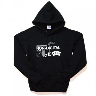 NON-DIGITAL CLUB HOODED SWEATSHIRT