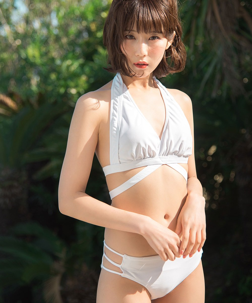 【20%off】diamant swimwear - WHITE