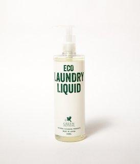 GREEN MOTION / ECO LAUNDRY LIQUID (洗濯洗剤) 【少量の洗剤量で洗浄力が高く、ドライマークの衣類も洗濯可能な優れもの】
