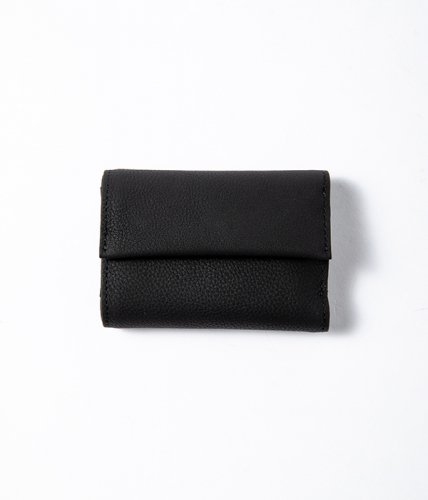 <img class='new_mark_img1' src='//img.shop-pro.jp/img/new/icons57.gif' style='border:none;display:inline;margin:0px;padding:0px;width:auto;' />ERA. / BUBBLE CALF TINY WALLET「Black」