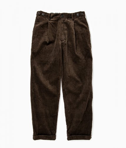 <img class='new_mark_img1' src='https://img.shop-pro.jp/img/new/icons6.gif' style='border:none;display:inline;margin:0px;padding:0px;width:auto;' />comm.arch./6W Corduroy Trousers「Burnt Nut」