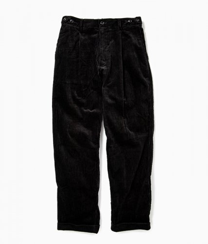 <img class='new_mark_img1' src='//img.shop-pro.jp/img/new/icons6.gif' style='border:none;display:inline;margin:0px;padding:0px;width:auto;' />comm.arch./6W Corduroy Trousers「Blackout」